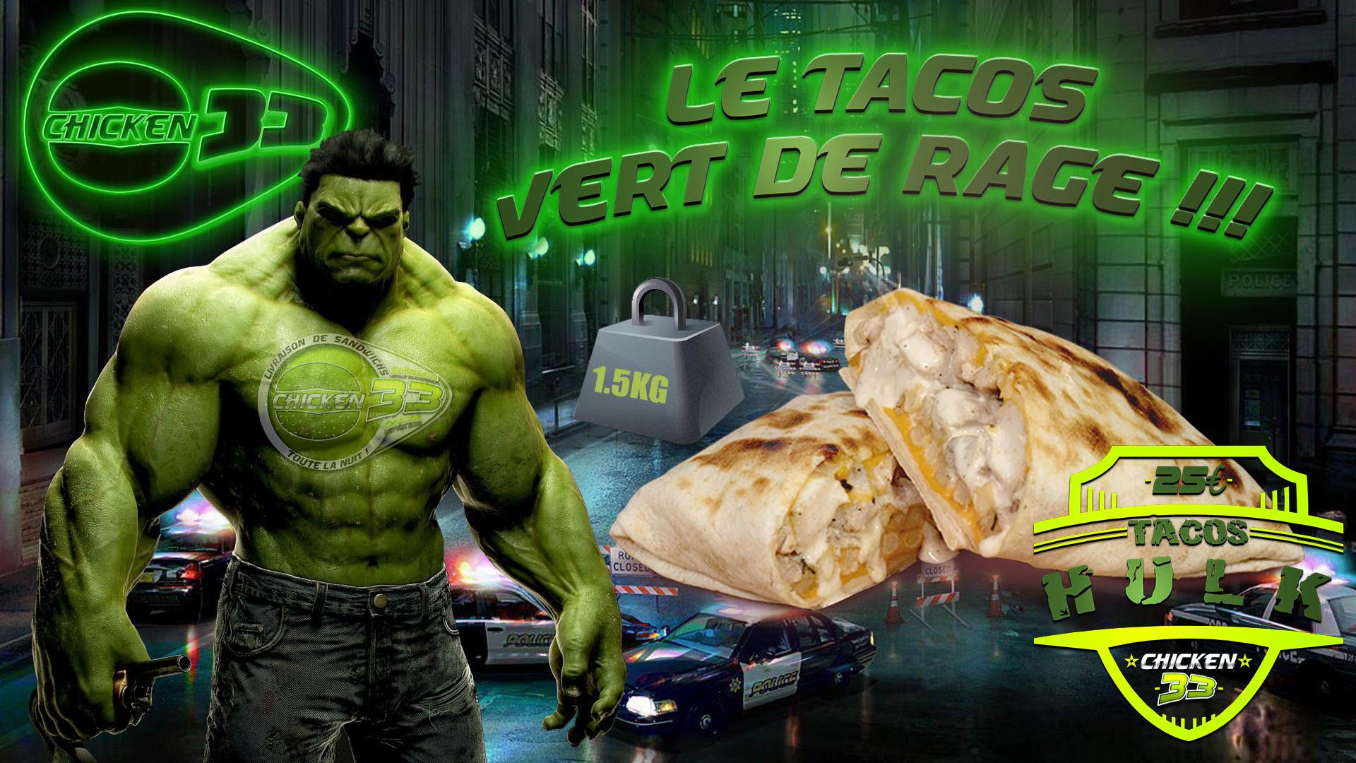 Livraison Tacos Nuit